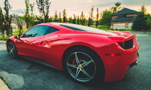 Toronto's Best Wedding Rental Ferrari