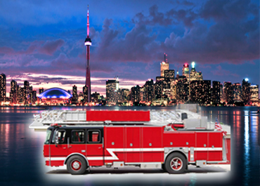 Fire Truck Limo for Rent in Toronto